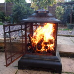 Log Burner Alight
