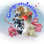 Congratulations Leonie