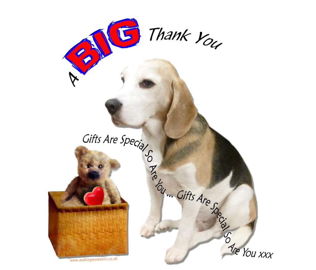 Words Of Love, A Big Thank You,