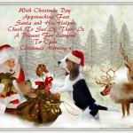 Santa's Fills His Christmas Sack