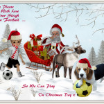 Santa's Please A New Football