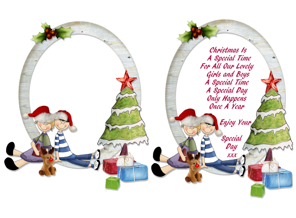 christmas card poem message verse for children