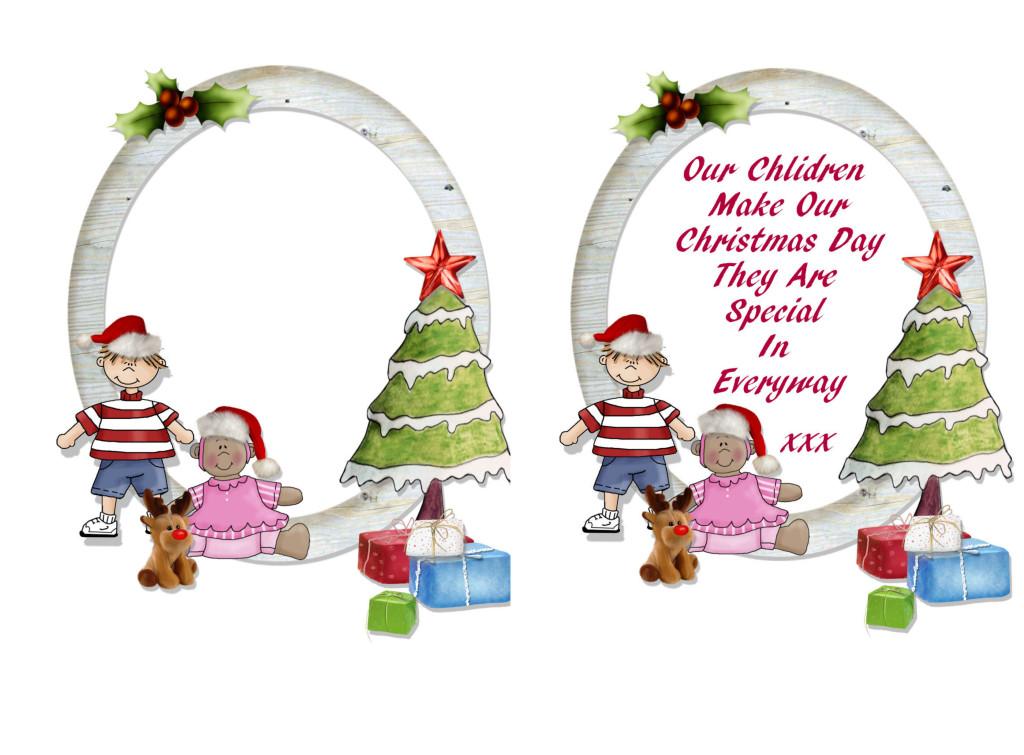 Christmas card poem verse for children message