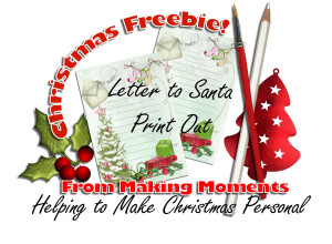 christmas freebie letter preview