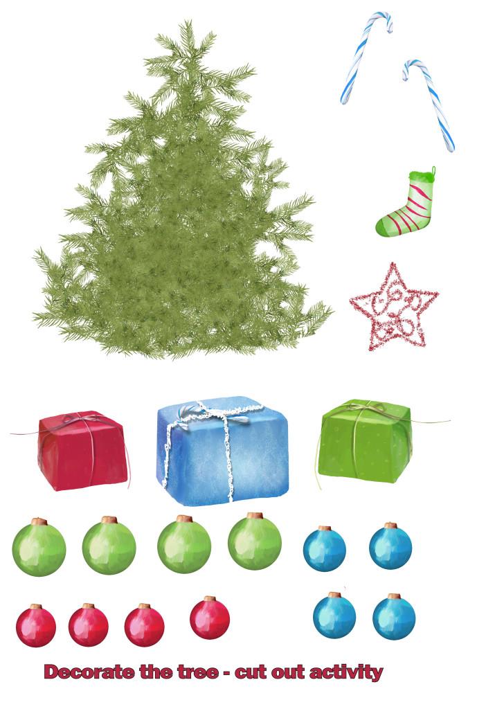 free, christmas, childrens, printable sheet