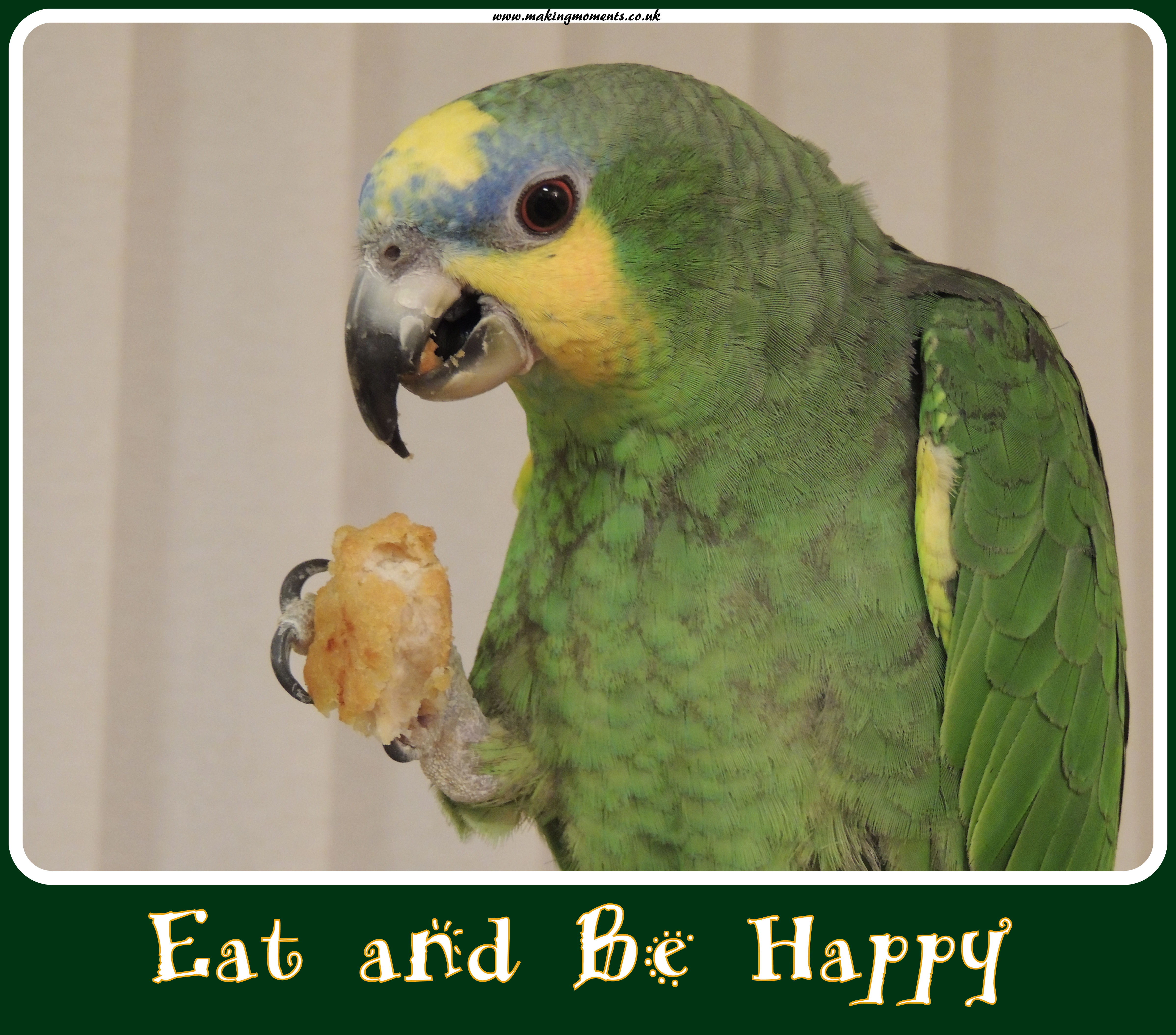 Eat and Be Happy